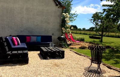 New outdoor chillout space