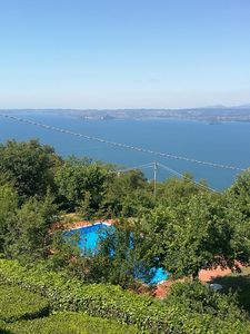 Photo for APARTMENT with stunning panoramic views of the lake and the mountains