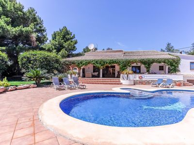 Photo for 4 bedroom Villa, sleeps 8 in Jesús Pobre with Pool, Air Con and WiFi