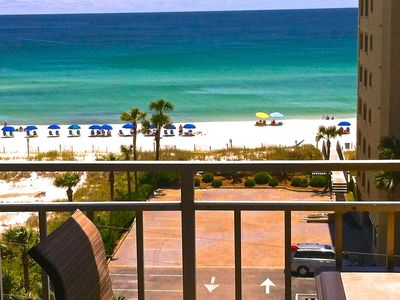 Photo for Perfectly Priced  Top Floor Beachside Condo
