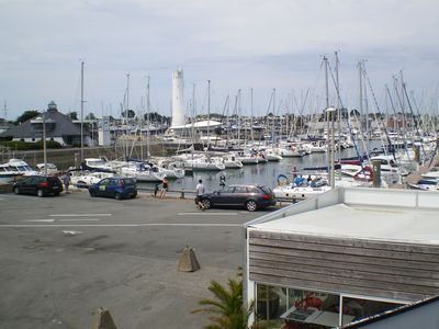 Photo for T3 apartment directly overlooking the Port du Crouesty