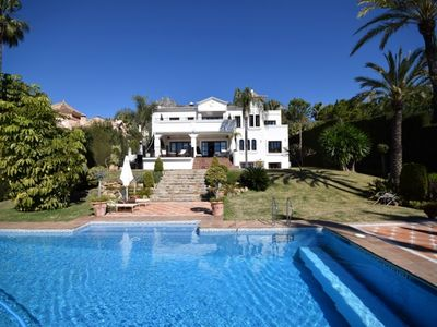 Photo for 10 bedroom Villa, sleeps 20 in Marbella with Air Con and WiFi