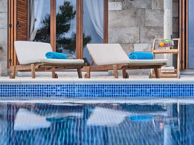 Photo for Designer luxury villa Hector with 4 bedrooms and infinity pool for 9 persons