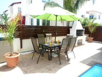 Photo for Luxury 3 bed villa with PRIVATE POOL, 30 mbs WIFI, fabulous location