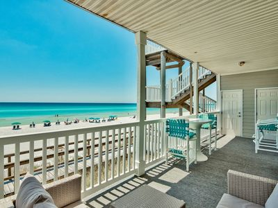 "Photo for HOLIDAY SPECIALS! ON THE BEACH, 30A, SEAGROVE  ""SUGAR SANDS"" Beach Service INCLUDED March - Sept."