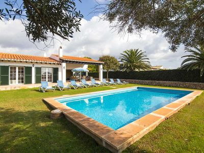 Photo for Comfortable, well-equipped villa with a pool, great views and free Wi-Fi, close to local facilities