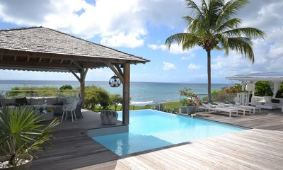 Photo for Villa in Sainte Anne Ref G215 - luxury 5 bedrooms with sea view and pool