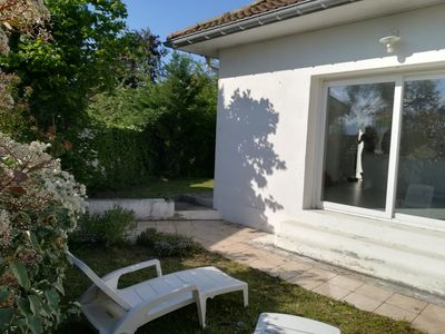 Photo for Nice housing with garden 5 minutes from Uriage (ideal spa)