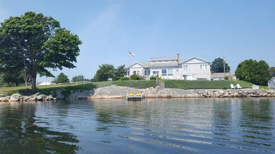 Photo for Stonington Waterfront is 2 miles to Mystic Village 4 Bedroom 3  Bath House