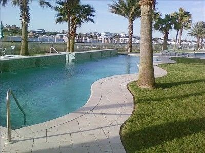 One of 4 outdoor pools