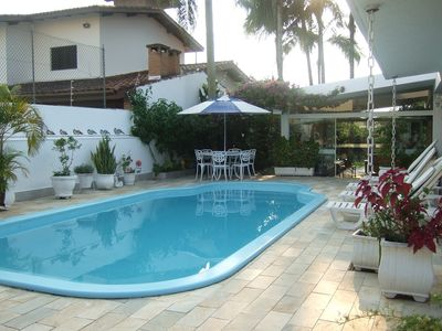 Photo for Charming guest house just steps from the beach ... with air conditioning, sky, wifi!