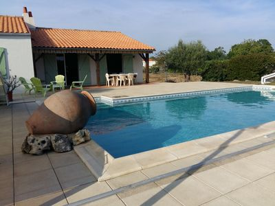 Photo for FURNISHED COUNTRY HOUSE VERY SUNNY WITH SWIMMING POOL