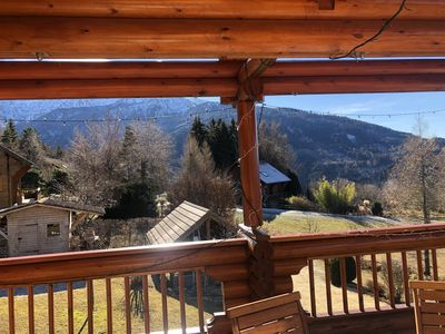 "Photo for Chalet 8 people ""Les 7 Laux Prapoutel"" - Exceptional location -"