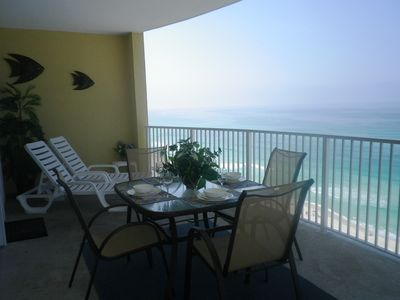 Photo for Luxury Oceanfront condo on PCB May lower special prices, Book Quickly!!