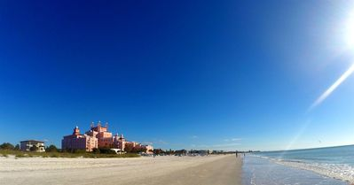 Photo for Steps away from beautiful white sand beach, in legendary Don CeSar neighborhood