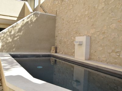 Photo for House center Eygalières heated pool