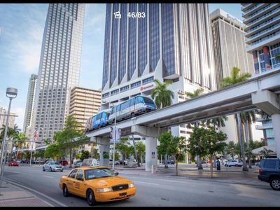 Photo for Downtown Miami 2 bedroom, 5min from Port of Miami