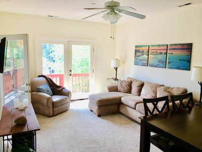 Photo for Stunning views and walk to downtown activities!