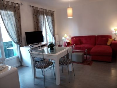 Photo for very bright 3 * class apartment with air conditioning and private garage