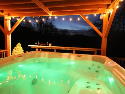Photo for Hot Tub, Close to Asheville. Pool & Ping Pong table 5 star