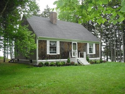 Photo for Charming Waterfront Cottage Just Steps from East Penobscot Bay