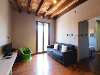 Photo for Apartment 688 m from the center of Barcelona with Internet, Air conditioning, Balcony, Washing machine (442953)