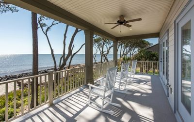 Top Porch with Rocking Chairs