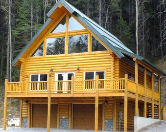 Picturesque Mountain view New Log Chalet  *6&7th Night Free!