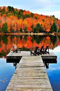 Photo for Leaf peeping, hiking, fishing, or just relaxing on the dock