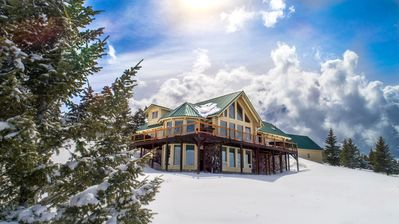 "Photo for Mountaintop ""Smart Home"" in Bozeman on 23 Acres (Wildlife + 1.5 Hrs to YNP)"