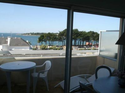 Photo for Studio with beautiful sea view EXCEPTIONAL 50m FROM THE BEACH WITHOUT OPPOSITE