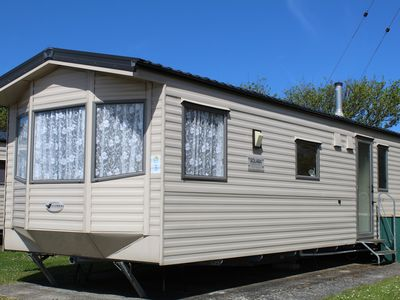 Photo for 6 berth Static Caravan, 2 Bedroom on a beautiful site  in Bude, North Cornwall.