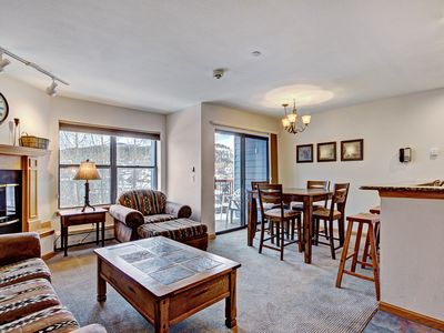 Photo for Bright 2Br 2Ba - Steps to Vibrant Main Street + Ski-to-Town