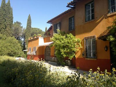 Photo for metro to city centre, In Villa Silj parkland, family friendly, swimming pool
