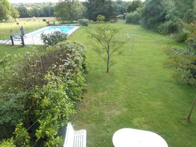 Photo for House 378 m from the center of Vouvant with Parking, Washing machine, Pool, Terrace (570649)