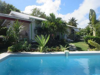 Photo for Bungalow with swimming-pool