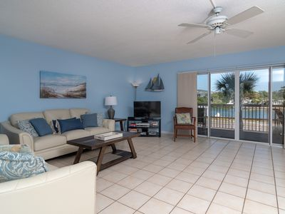 Photo for Relax and enjoy the sunrise, 2/2 condo with an Intracoastal View and Steps to the Gulf of Mexico