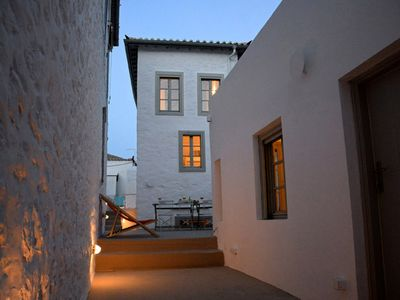 Photo for Superb 19C stone house with yard, 3 mins walk - no steps - to Hydra port