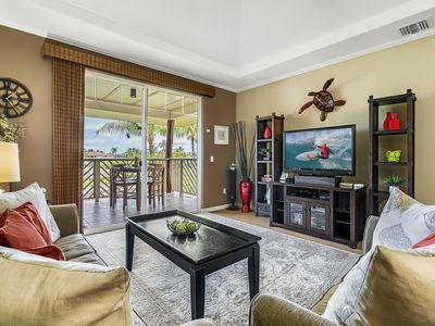 Photo for Waikoloa Beach Villas E33-TOP FLOOR-Summer Special FREE Night w/7 Nights