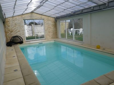 Photo for Big house in Rochefort (17) with 23 sleeps with Sauna pool and hammam
