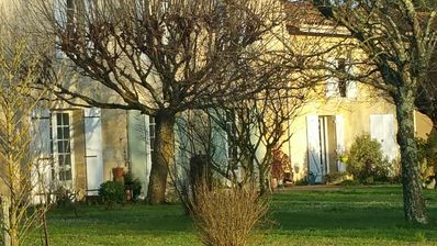 Photo for House between Bordeaux and St Emilion with magnificent park, surrounded by Vines