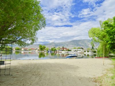 Photo for Osoyoos Beach Paradise with Boat Moorage