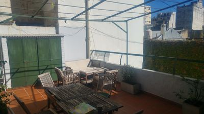 Photo for Triplex apartment with BBQ and terrace (parrilla)
