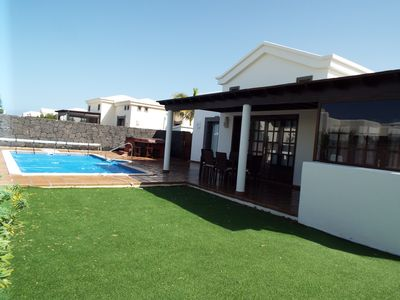 Photo for Casa zara 2 Bedroomed Villa,Private Heated Pool Wifi,Hot Tub,Pool table,air con