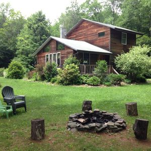 Photo for Secluded Country Retreat on 4 Acres - Gorgeous Mtn Views, Flowing Stream