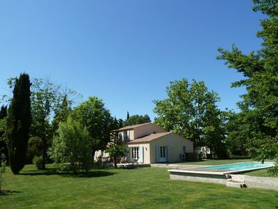 Photo for Beautiful private villa for 12 people with WIFI, private pool, TV and parking