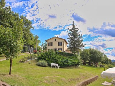 Photo for Holiday home in Piticchio surrounded by a magnificent landscape.