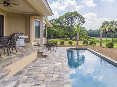 Photo for 2 Yard Arm | Luxurious New Construction Home | Private Pool | Palmetto Dunes!
