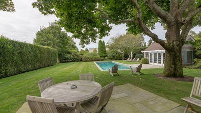 Photo for Beautifully Decorated Wainscott Home, S of Highway w/ Chefs Kitchen, Heated Pool