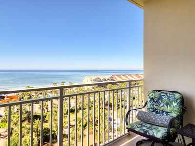 Photo for Charming beach retreat w/ water views from balcony & access to shared amenities!